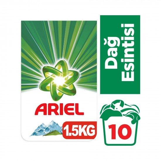 Ariel Toz Çamaşır Deterjanı Dağ Esintisi 1,5 kg 10 Yıkama