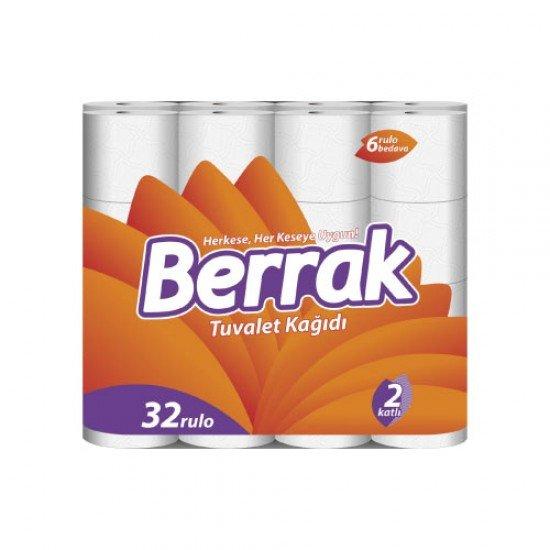 Berrak Tuvalet Kağıdı 2 Katlı 32li