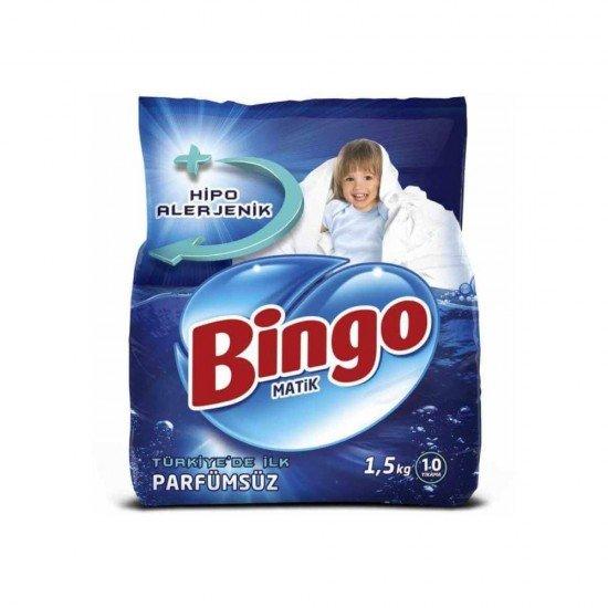 Bingo Matik Toz Deterjan Parfümsüz 1,5 kg