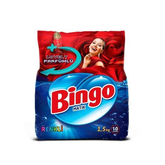Bingo Matik Toz Deterjan Renkliler 1.5 kg