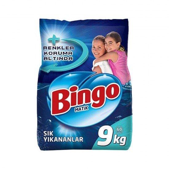 Bingo Matik Toz Deterjan Sık Yıkanan 9 kg