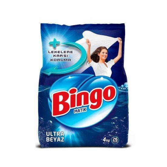 Bingo Matik Ultra Beyaz 4 kg 26 Yıkama