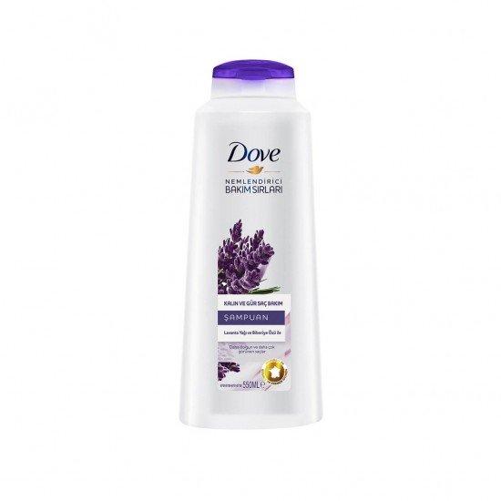 Dove Şampuan Lavanta Yağı ve Biberiye Özlü 550 ml