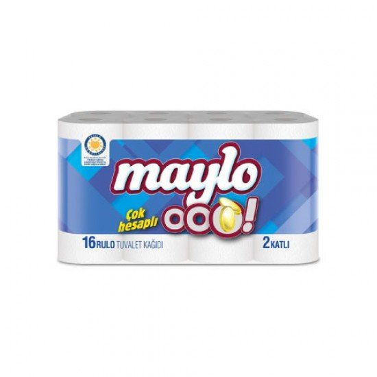 Maylo Ooo 2 Katlı Tuvalet Kağıdı 16lı