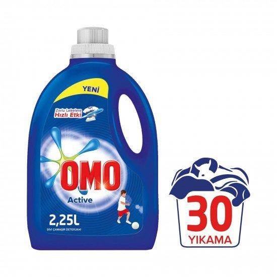 Omo Active Sıvı Çamaşır Deterjanı 2.25 lt 30 Yıkama
