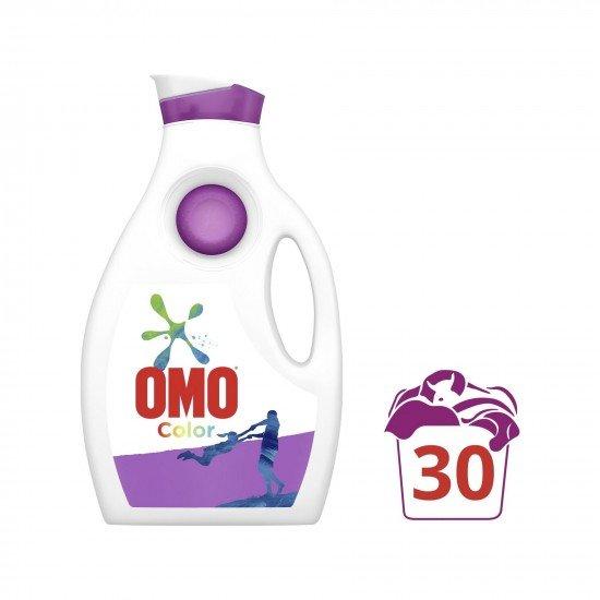 Omo Color Renkliler İçin Sıvı Çamaşır Deterjanı 1950 ml 30 Yıkama