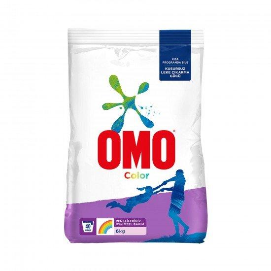 Omo Matik Color Toz Deterjan 6 kg 40 Yıkama