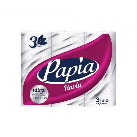 Papia Kağıt Havlu 3 Katlı 3lü