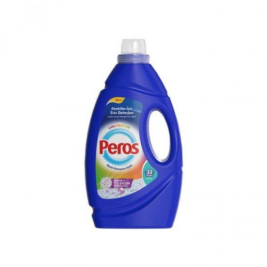 Peros Sıvı Çamaşır Deterjanı Canlı Renkler 33 Yıkama  2,31 lt