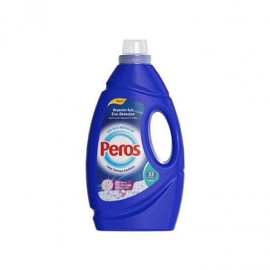 Peros Sıvı Çamaşır Deterjanı Göz Alıcı Beyazlar 33 Yıkama  2,31 lt