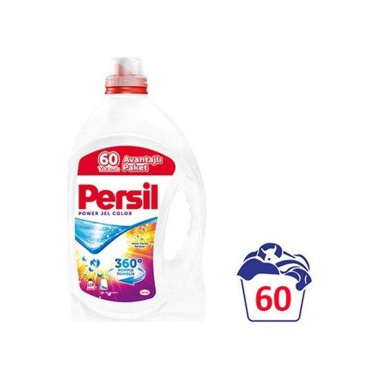 Persil Expert Jel Sıvı Çamaşır Deterjanı Color 60 Yıkama 4200 ML