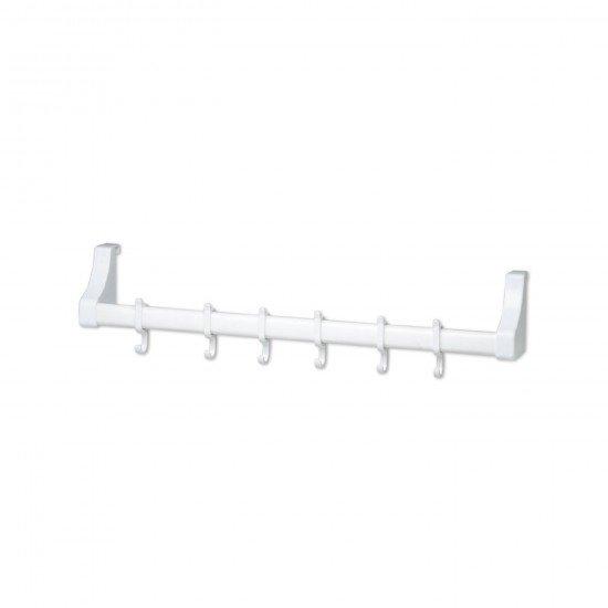 Qlux Kapı Arkası Askı (Plastik/Beyaz)