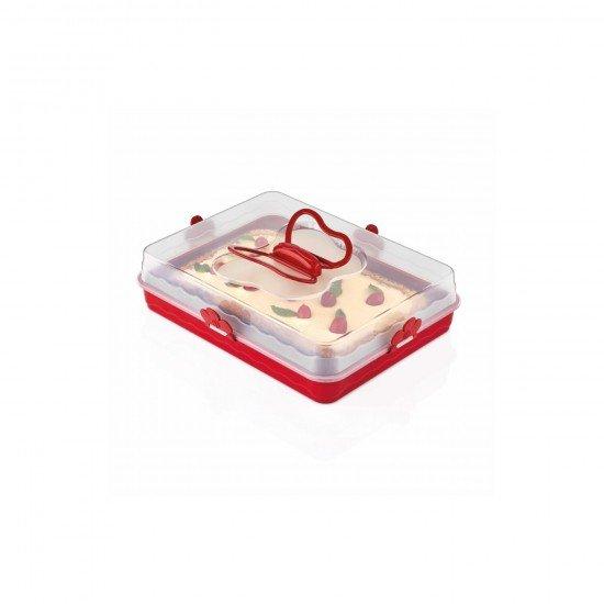 Qlux Pasta Börek Saklama ve Taşıma Kabı