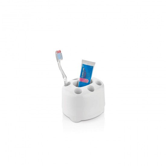 Qlux Set Üstü Diş Fırçalık