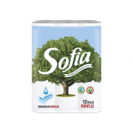 Sofia Kağıt Havlu 3 Katlı 12li