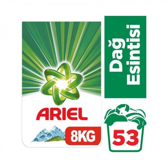 Ariel Toz Çamaşır Deterjanı Dağ Esintisi Beyazlar İçin 8 kg